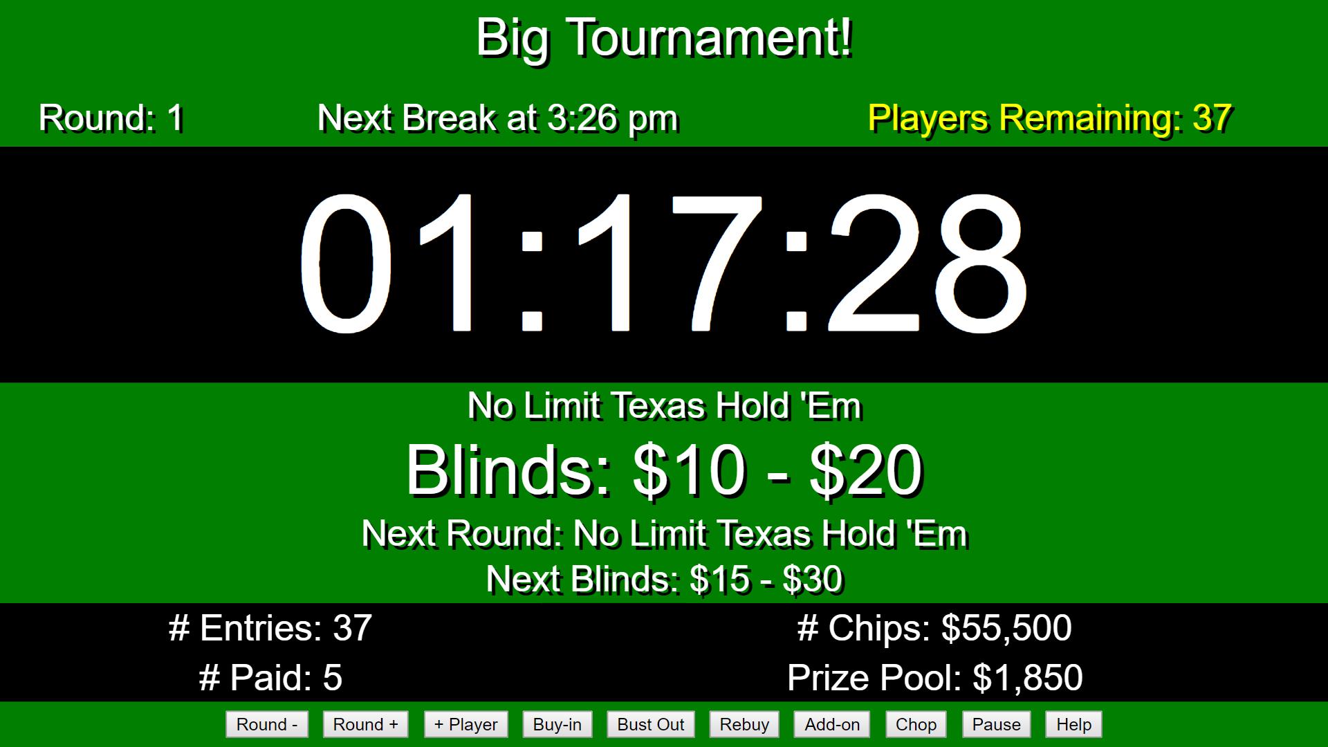 Poker tournament software open source free bonus casino no deposit
